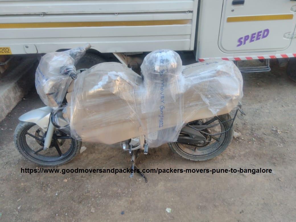 bike transport pune to bangalore